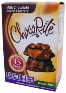 Store Bought Keto Desserts - ChocoRite Milk Chocolate Pecan Clusters