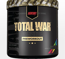 Redcon1 Total War pre workout review - hero